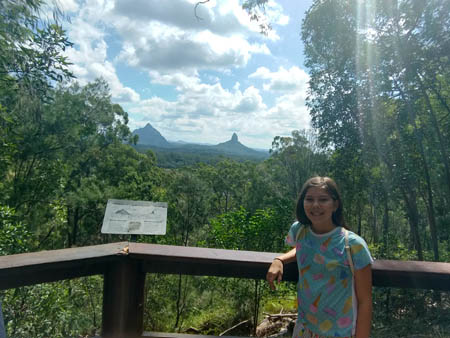 Me, Mt Beerwah, and Mt Coonowrin